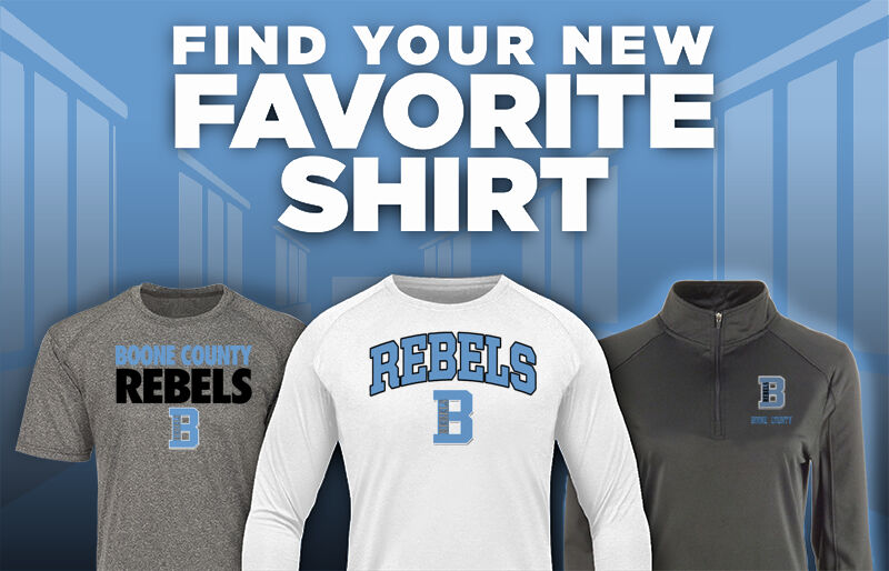 Boone County Rebels Favorite Shirt Updated Banner