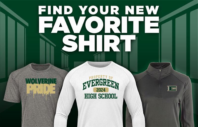 Evergreen Wolverines Favorite Shirt Updated Banner