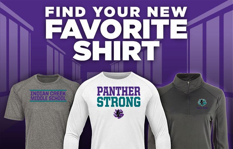 Indian Creek Panthers Favorite Shirt Updated Banner