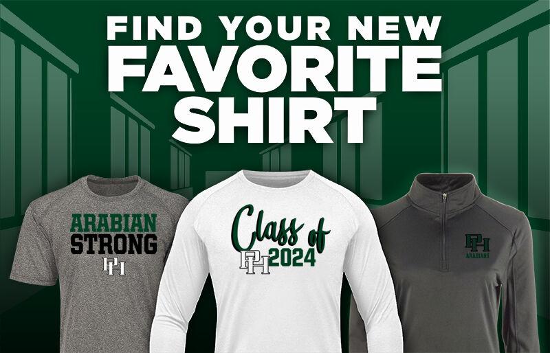 Pendleton Heights Arabians Online Store Favorite Shirt Updated Banner
