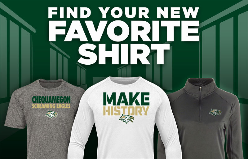 Chequamegon Screaming Eagles Favorite Shirt Updated Banner