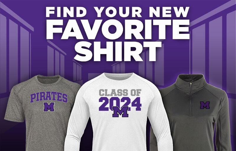 Merrillville Pirates Favorite Shirt Updated Banner