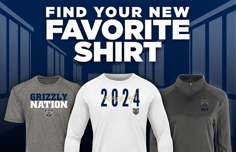 Napa Grizzlies Favorite Shirt Updated Banner