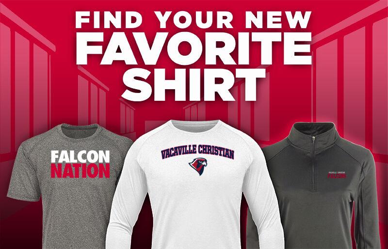 Vacaville Christian  Falcons Favorite Shirt Updated Banner