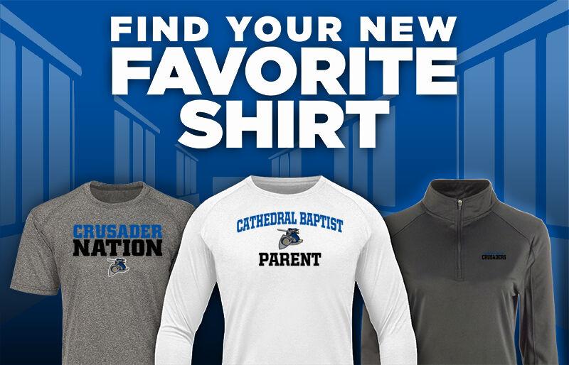 Cathedral Baptist Crusaders Favorite Shirt Updated Banner