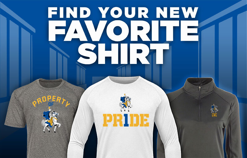 Central Wisconsin Christian Crusaders Online Store Favorite Shirt Updated Banner