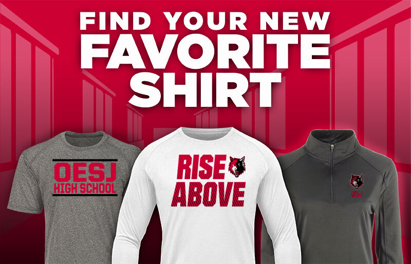OESJ Wolves Wolves Favorite Shirt Updated Banner