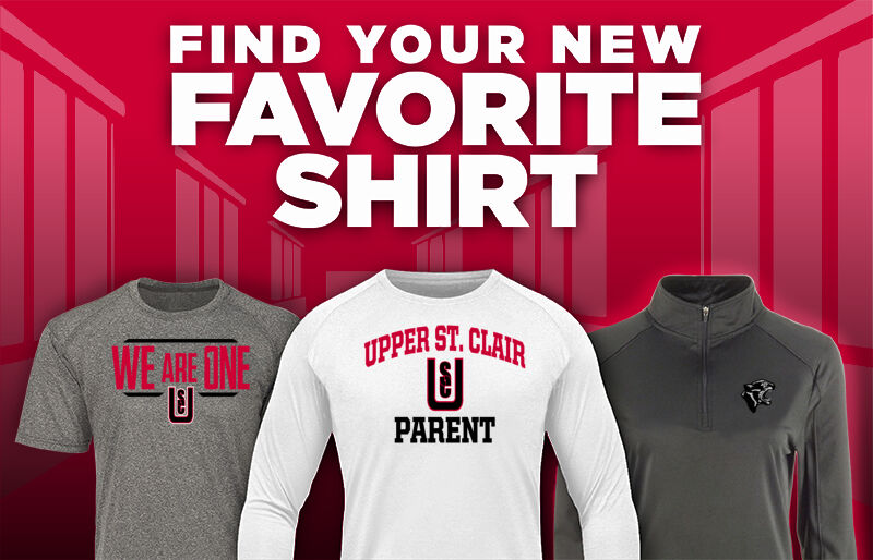 Upper St. Clair Panthers Panthers Favorite Shirt Updated Banner