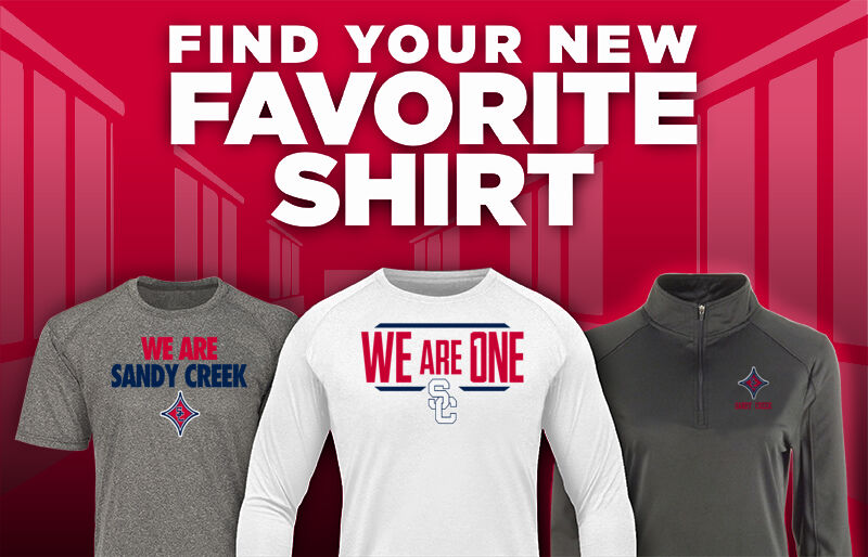 SANDY CREEK HIGH SCHOOL PATRIOTS Favorite Shirt Updated Banner