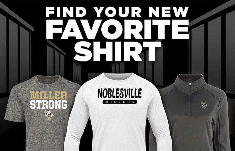 NOBLESVILLE HIGH SCHOOL MILLERS Favorite Shirt Updated Banner