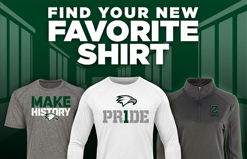 Zionsville High School EAGLES ONLINE STORE Favorite Shirt Updated Banner