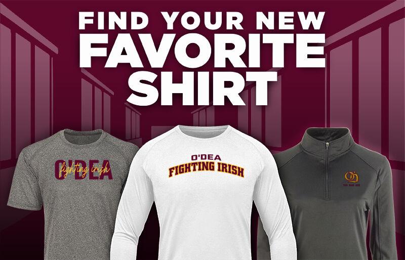 O'Dea Fighting Irish Official Online Store Favorite Shirt Updated Banner
