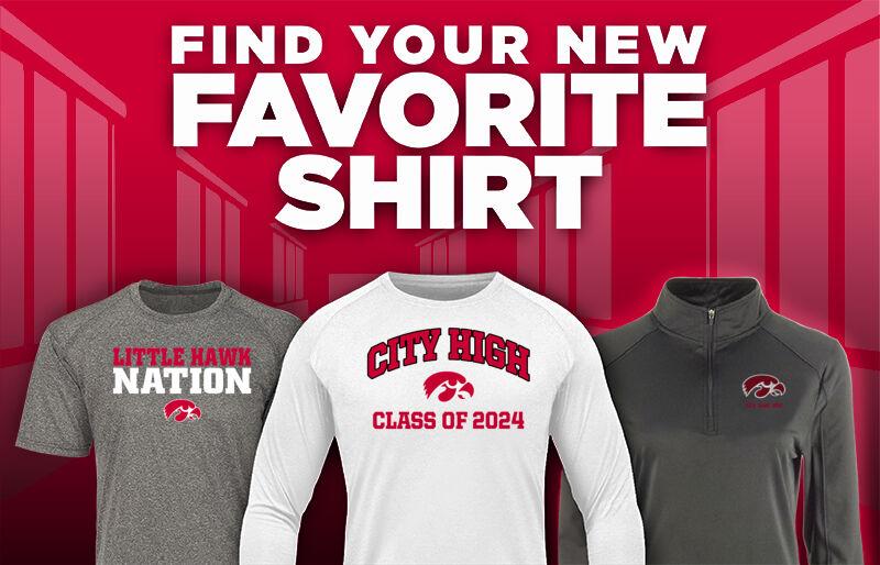 City High Little Hawks Online Athletics Store Favorite Shirt Updated Banner