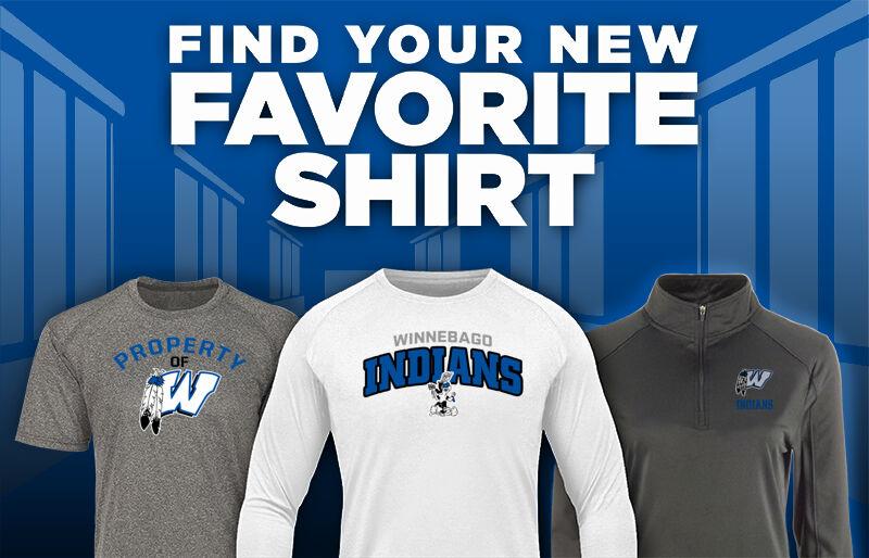 Winnebago Indians Favorite Shirt Updated Banner