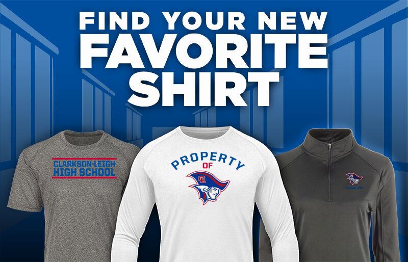 Clarkson-Leigh Patriots Favorite Shirt Updated Banner