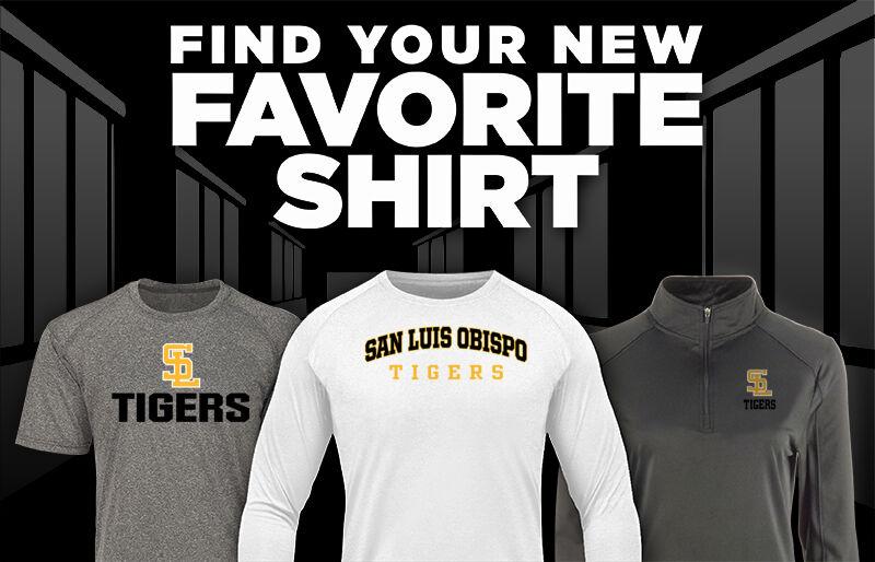 SAN LUIS OBISPO TIGERS ONLINE STORE Favorite Shirt Updated Banner