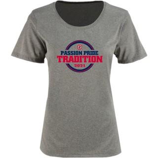 Sport-Tek Women's Heather Contender Scoop Neck