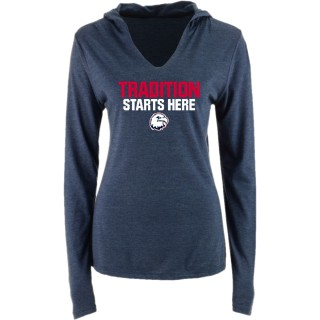 District Perfect Tri Long Sleeve Hoodie