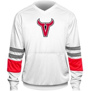 Varsity Pocketed Pullover