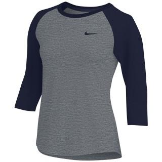 Nike Women's Dry 3/4 Sleeve Raglan Top