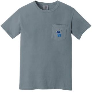 Comfort Colors Heavyweight Ring Spun Pocket T-Shirt