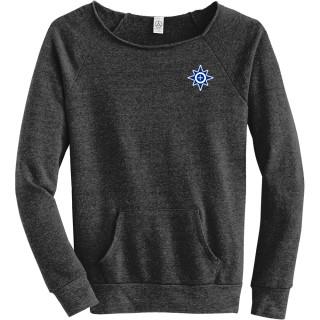 Alternative Women's Maniac Eco-Fleece Sweatshirt