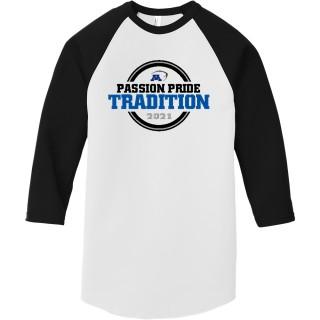 American Apparel Poly-Cotton 3/4-Sleeve Raglan T-Shirt