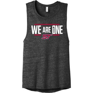 BELLA+Canvas Women's Flowy Scoop Muscle Tank.