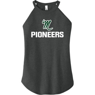 District Women's Perfect Tri Rocker Tank
