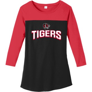 District Women's Rally 3/4 Sleeve Tee