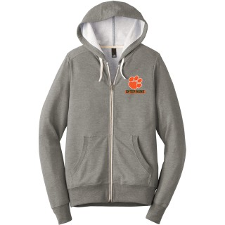 District Perfect Tri French Terry Full-Zip Hoodie