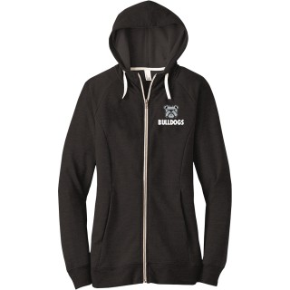 District Women's Perfect Tri French Terry Full-Zip Hoodie