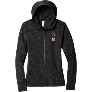 District Women's Medal Full-Zip Hoodie