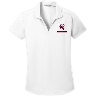 LADIES DRY ZONE GRID POLO