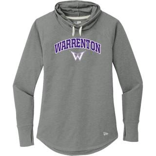 New Era Women's Sueded Cotton Blend Cowl Sweatshirt