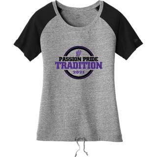 New Era Women's Tri-Blend Performance Cinch T-Shirt