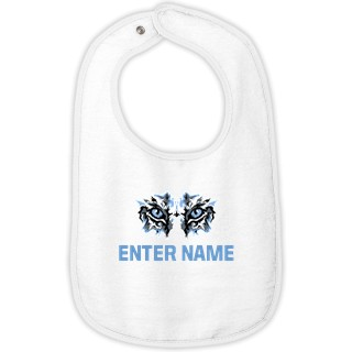 Rabbit Skins Infant Contrast Trim Terry Bib