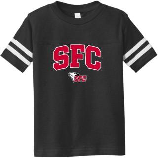 Rabbit Skins Toddler Football Fine Jersey T-Shirt