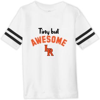 Rabbit Skins Toddler Football Fine Jersey Tee