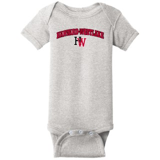 Rabbit Skins Infant Short Sleeve Baby Rib Onesie