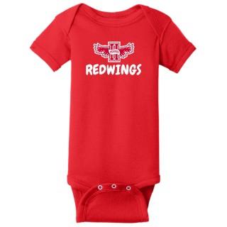 Rabbit Skins Infant Short Sleeve Baby Rib Bodysuit