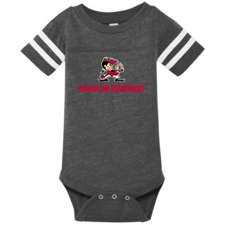 Rabbit Skins Infant Football Fine Jersey Onesie