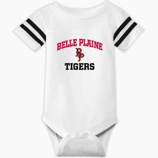 Rabbit Skins Infant Football Fine Jersey Onesie