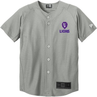 New Era Youth Diamond Era Full-Button Jersey