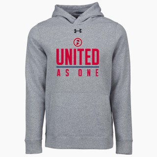 UA Hustle Fleece Hoody
