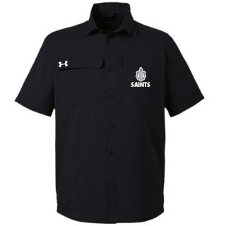 UA Motivator Coaches Button Up