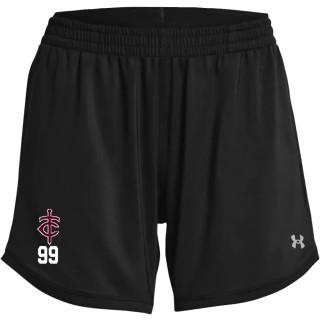 UA Women's Knit Mid Length Short