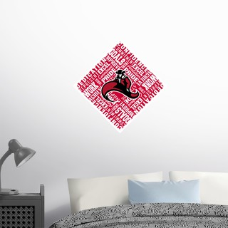 Wall Decal - Diamond With Slogans