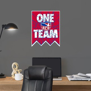 Wall Decal - Shattered Banner