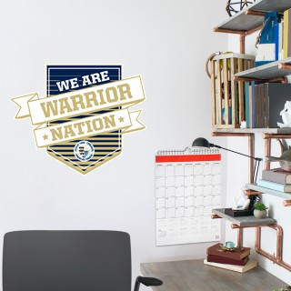 Wall Decal - Shield With Ribbon